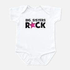 Big Sisters Rock Onesie
