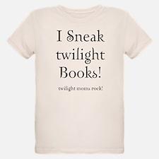 Twilight Moms Sneak Books T-Shirt
