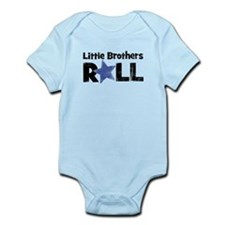Little Brothers Roll Infant Bodysuit