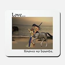 Love Knows No Bounds Mousepad