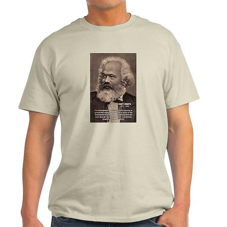 Civilization and Marx Ash Grey T-Shirt
