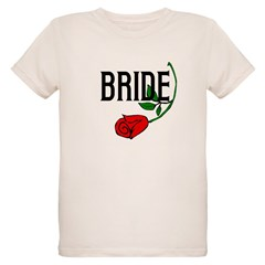 Gothic Rose Bride T-Shirt