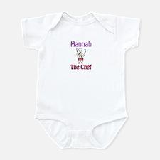 Hannah - The Chef Infant Bodysuit