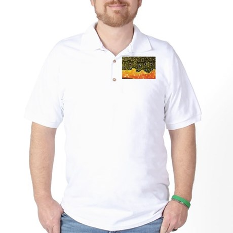 Brook Trout Fly Fishing Golf Shirt