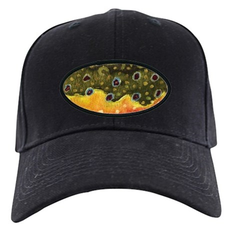 Brook Trout Fly Fishing Black Cap