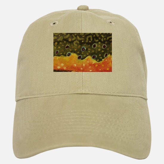 Brook Trout Fly Fishing Baseball Baseball Cap