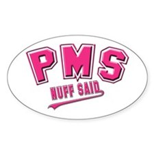 PMS Oval Decal