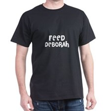 Feed Deborah Black T-Shirt
