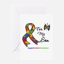 Autism Support Son Greeting Card