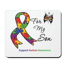 Autism Support Son Mousepad