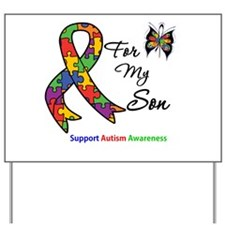 Autism Support Son Yard Sign