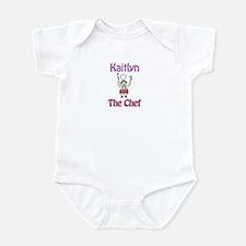 Kaitlyn - The Chef Infant Bodysuit
