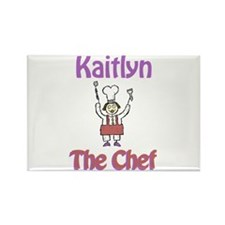 Kaitlyn - The Chef Rectangle Magnet