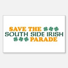 Save The South Side Irish Parade Decal
