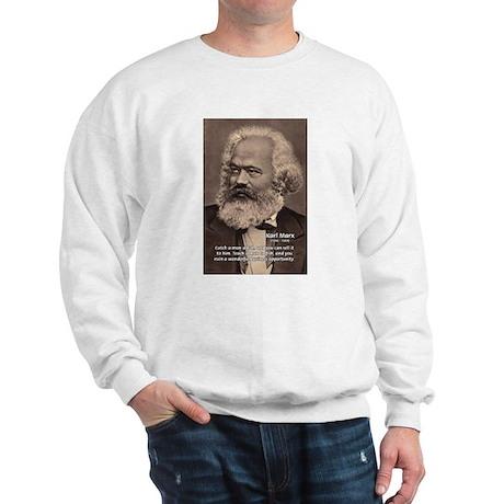 History Analyst Karl Marx Sweatshirt