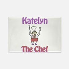 Katelyn - The Chef Rectangle Magnet