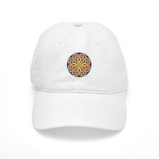 Mandala spokes Baseball Cap