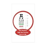 Vision Rectangle Sticker 10 pk)
