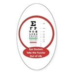 Vision Oval Sticker