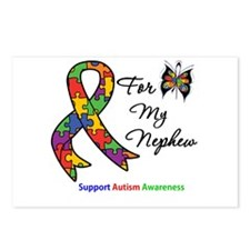 Autism Support Nephew Postcards (Package of 8)