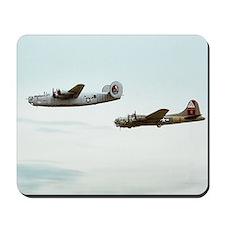 B-24 and B-17 Flying Mousepad