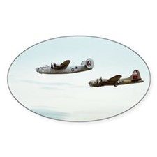 B-24 and B-17 Flying Decal