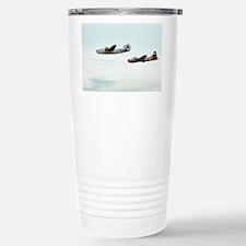 B-24 and B-17 Flying Stainless Steel Travel Mug