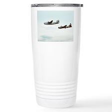 B-24 and B-17 Flying Travel Mug