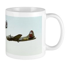 B-24 and B-17 Flying Small Mug