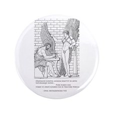 """Daedalus and Icarus (Ovid) 3.5"""" Button"""