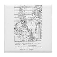 Daedalus and Icarus (Ovid) Tile Coaster