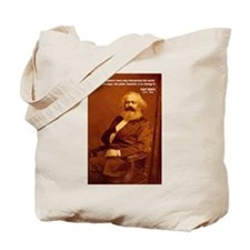 Power of Change Karl Marx Tote Bag