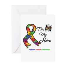Autism Support Hero Greeting Card