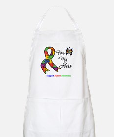 Autism Support Hero BBQ Apron