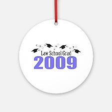 Law School Grad 2009 (Purple Caps And Diplomas) Or