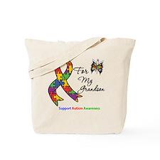 Autism Support Grandson Tote Bag