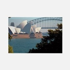 Opera House View Rectangle Magnet