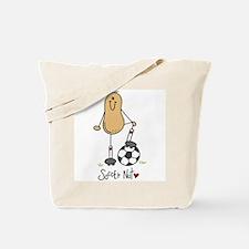 Soccer Nut Tote Bag