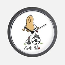Soccer Nut Wall Clock