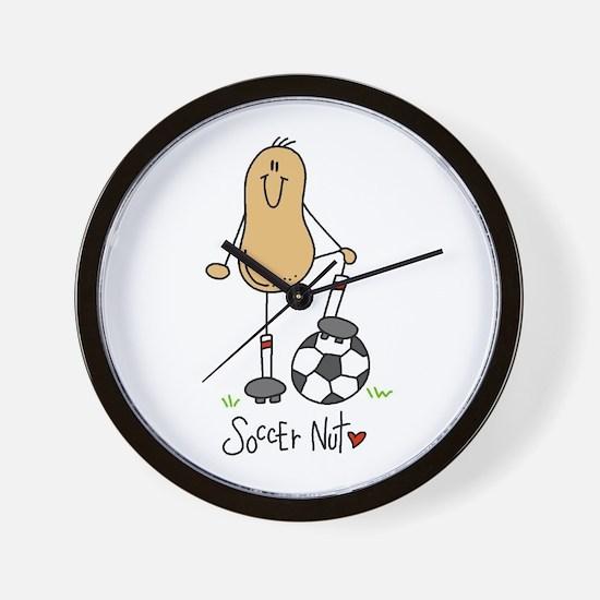 Soccer Nut Wall Clock