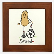 Soccer Nut Framed Tile