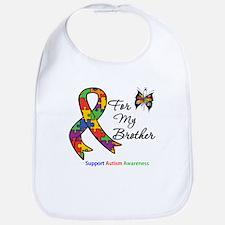Autism Support Brother Bib