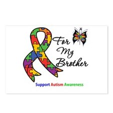 Autism Support Brother Postcards (Package of 8)