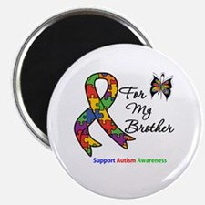 Autism Support Brother Magnet