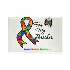 Autism Support Brother Rectangle Magnet (10 pack)