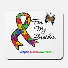 Autism Support Brother Mousepad