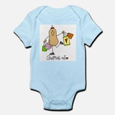 Shopping Nut Infant Bodysuit