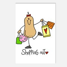 Shopping Nut Postcards (Package of 8)