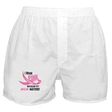I Wear Pink For My Mom 33.2 Boxer Shorts