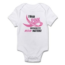 I Wear Pink For My Mom 33.2 Infant Bodysuit